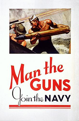 Man The Guns Poster